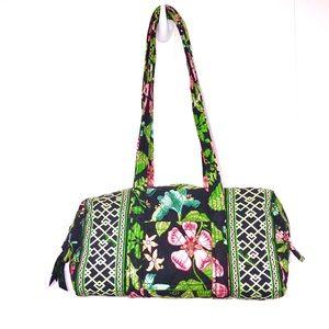 Vera Bradley Jade Tropical Mini Duffel Handbag